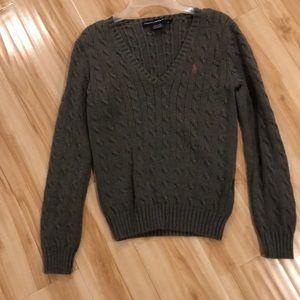 Gray Polo Ralph Lauren sweater